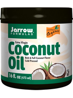 Jarrow Formulas organic virgin coconut oil 16 fluid ounce