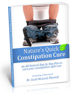 Nature's Quick Constipation Cure e-book