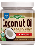 Organic virgin coconut oil 32oz by Jarrow Formulas