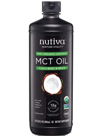 Nutiva organic MCT oil 32 fluid ounce