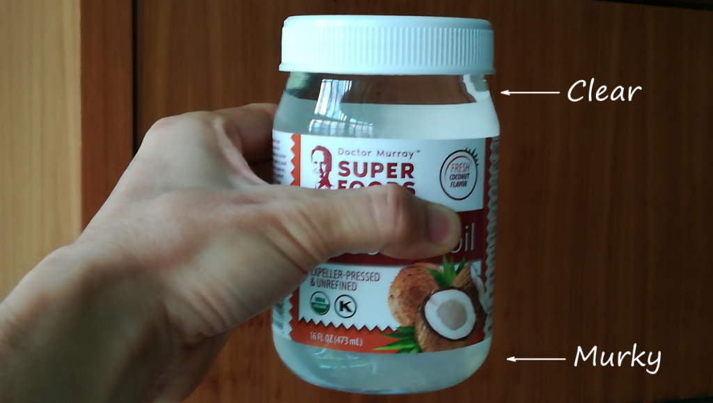 Show quality of Doctor Murray's organic virgin coconut oil